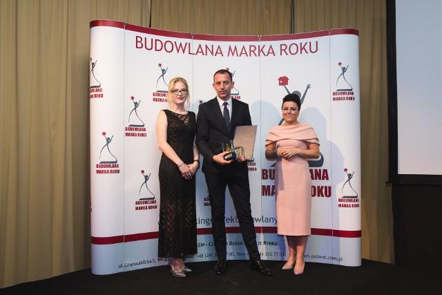 Uroczyste wręczenie nagród Złota Budowlana Marka Roku 2017 odbyło się 8 czerwca w Michałowicach k. Warszawy