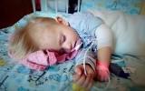 Mała Olga choruje na SMA. Jej szansa na przeżycie kosztuje 9 mln złotych