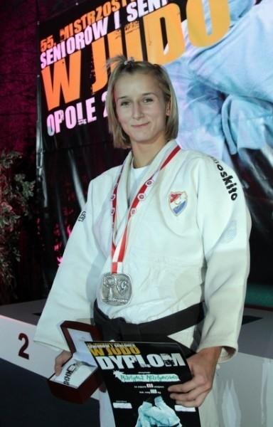 Martyna Martynowicz (Gwardia Opole) okazała się najlepsza w wadze do 52 kg.