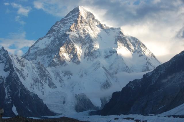 Szczyt K2 w Karakorum