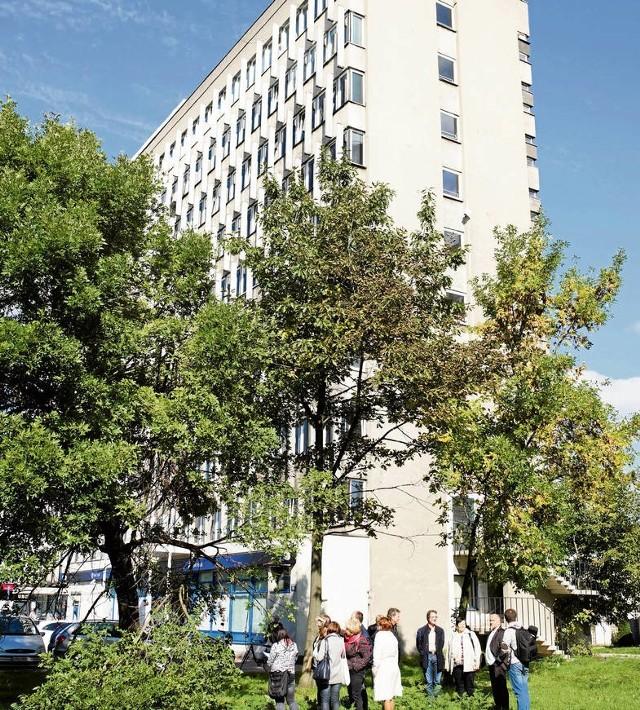 Wczorajsza wizja lokalna na działce przy al. Powstania Warszawskiego
