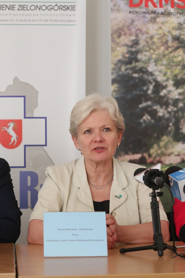 Lek. med. Teresa Dobrzańska-Pielichowska zaprasza na akcję