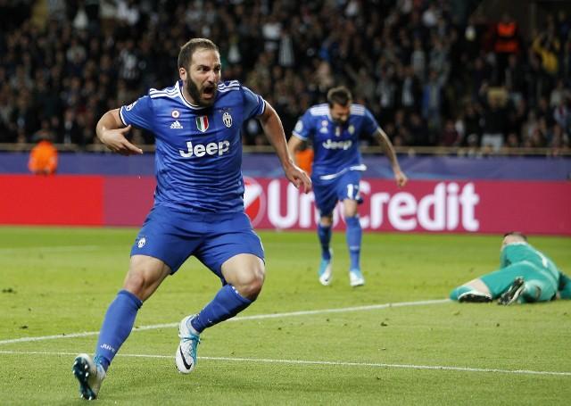 Gonzalo Higuain zdobył dwa gole w meczu z AS Monaco