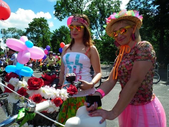 Posnania Bike Parade w stylu flower power
