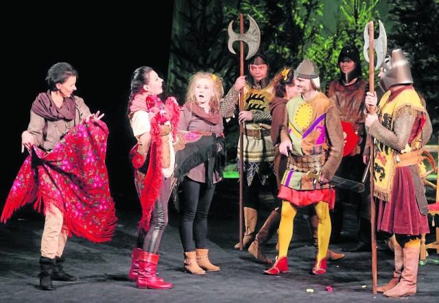 """Ostatni spektakl """"Lady Robin Hood""""  też zgromadził śląskie VIP-y"""