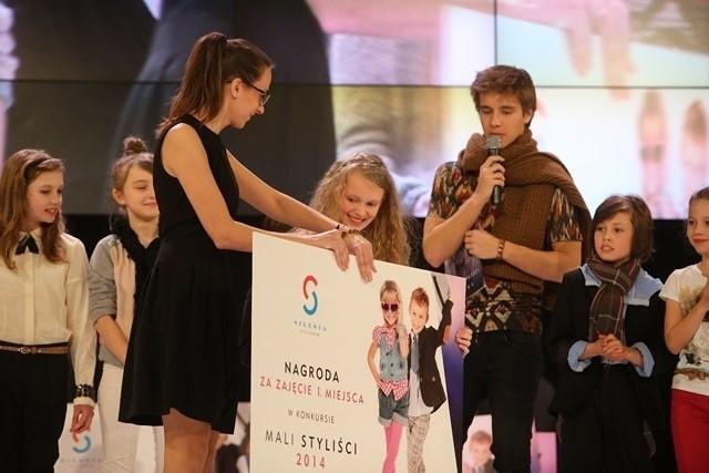 Mali styliści na pokazie mody w Silesia City Center