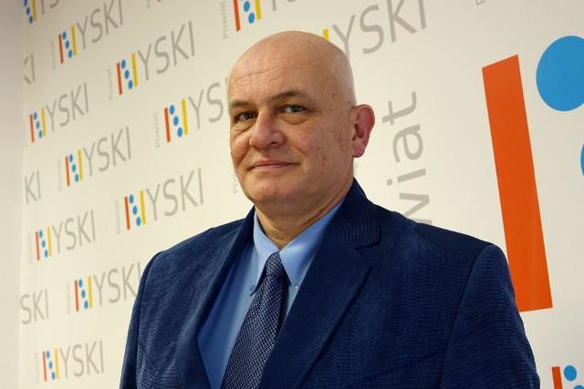 Starosta nyski Andrzej Kruczkiewicz