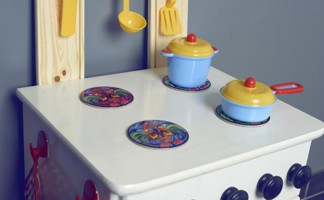 Zabawka, która ucieszy każde dziecko - kuchnia drewniana.
