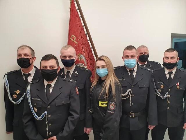 Zarząd OSP Nowe Brzesko