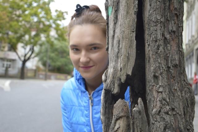 Daria kocha przyrodę, ale przyznaje, że ciężko żałować obumarłych, wychniętych drzew, które grożą runięciem