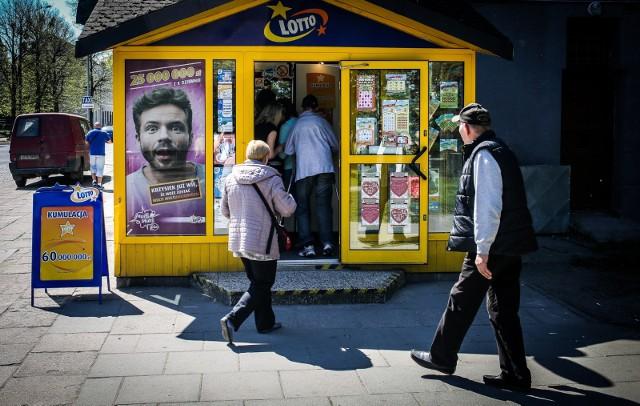 Dwie wysokie wygrane w grach Lotto w Kujawsko-Pomorskiem