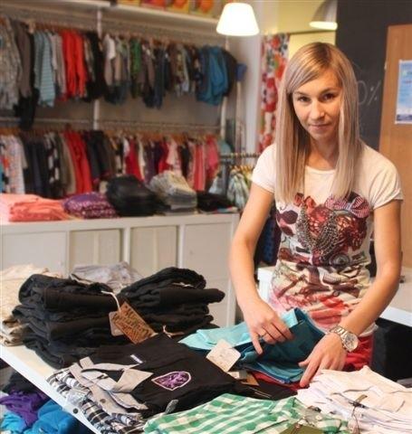 - Pomysł na sklep z markowymi ciuszkami dla dzieci był strzałem w dziesiątkę - mówi Maria Słabiak, właścicielka sklepu Ninio w Kielcach, mama 7-letniej Amelki i 4-letniego Frania.