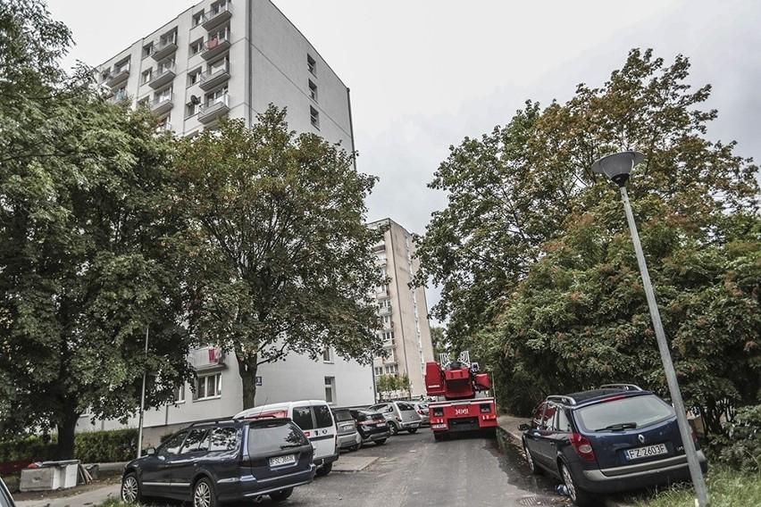 Do pożaru doszło w poniedziałek, 12 sierpnia, w wieżowcu...