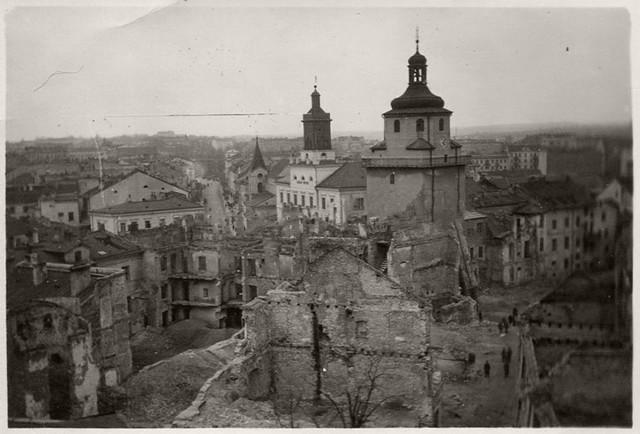 Stare miasto w Lublinie w 1939 roku
