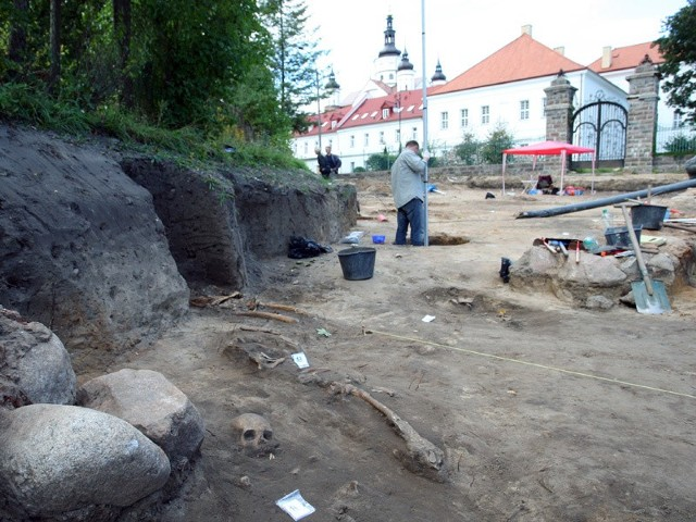 Badania archeologiczne w Supraślu