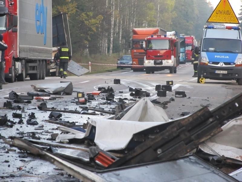 Wypadek w miejscowości Pijawne Polskie