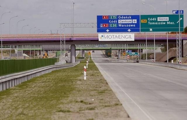 Uwaga Mapy Wezlow Wjazdow Na Nowy Odcinek Autostrady A1 Tylko