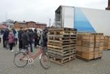 20 ton jabłek w Bolszewie rozdano w kilkadziesiąt minut [ZDJĘCIA,WIDEO]
