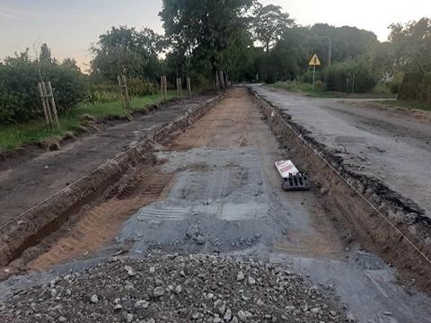 Przebudowa drogi w Słosinku
