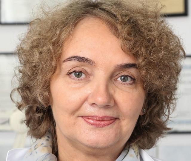 Doktor Maria Pyzio-Gutkowska, dermatolog, lekarz medycyny estetycznej.