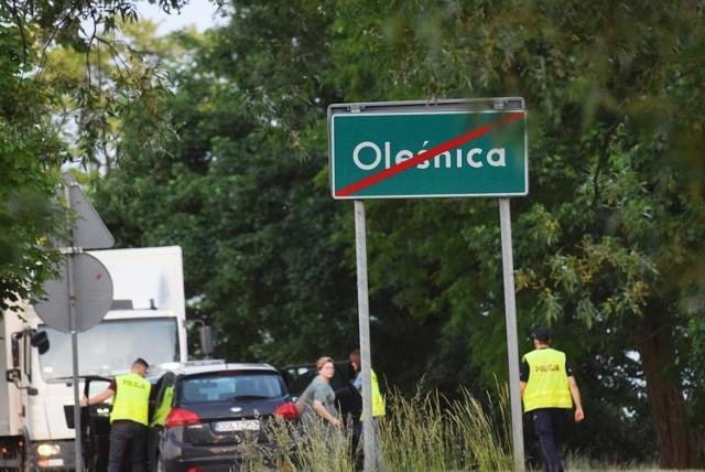 Wypadek pod Oleśnicą 10.06.2021