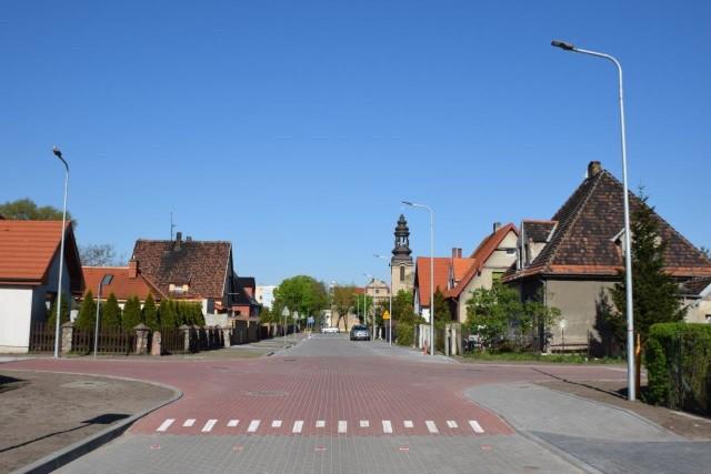 Zakończyła się przebudowa ulicy Słonecznej i fragmentu ul. Spokojnej w Mątwach. Inwestorem było miasto Inowrocław