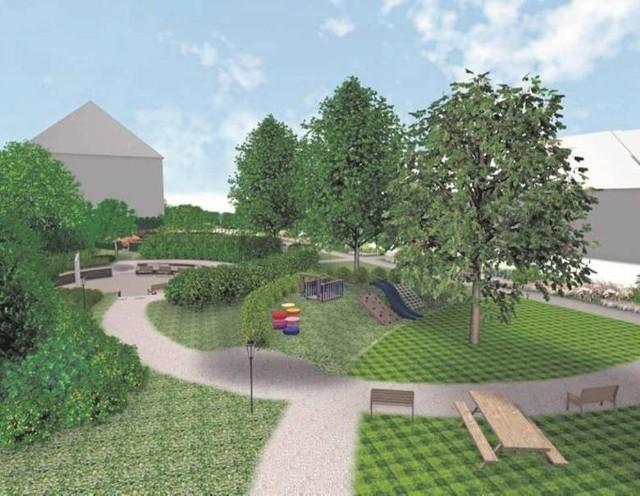 Propozycja mieszkańców jest taka, aby park miał charakter ogrodowy
