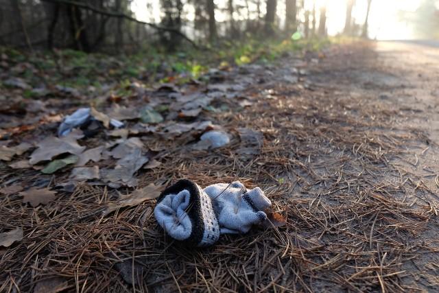 W Lesie Turczyńskim odnaleziono zwłoki młodej kobiety. Świadkowie twierdzą, że uprawiała jogging. Na miejscu zostały jedynie jasne rękawiczki i lateksowa rękawiczka ratownika medycznego