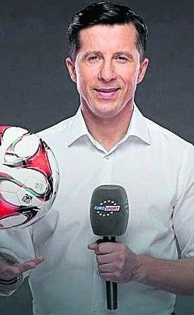 Radosław Gilewicz komentuje mecze Bundesligi w Eurosporcie