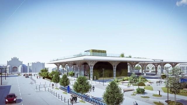 Projekt Dworca Metropolitarnego w Lublinie