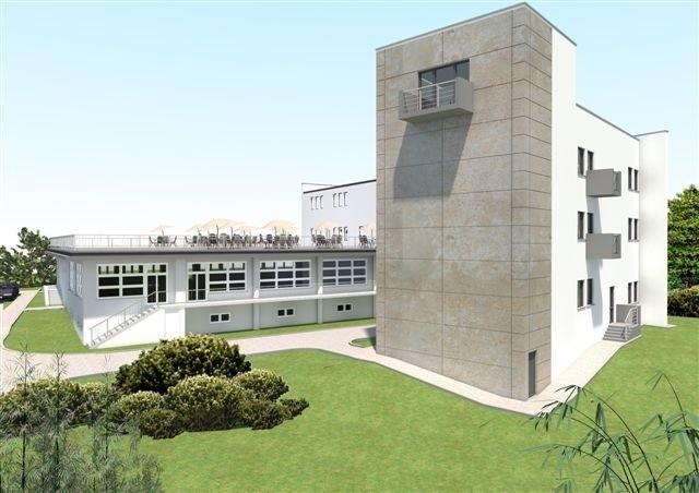 Tak będzie wyglądał nowy, dwu i pół-kondygnacyjny budynek Świętokrzyskiego Centrum Biznesu.