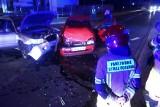 Wypadek na Muchoborze. Jedna osoba trafiła do szpitala [ZDJĘCIA]