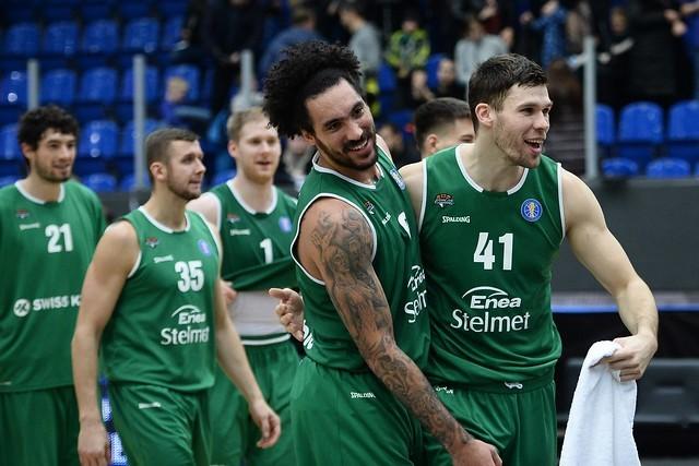 Koszykarze Stelmetu Enei BC Zielona Góra wygrali z Niżnym Nowogrodzie.