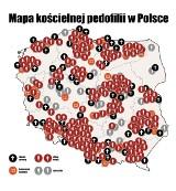 Mapa pedofilii w Kościele 2020: Gdzie w Polsce dochodziło do molestowania dzieci przez księży pedofilów?