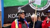 """Związki zawodowe protestują w stolicy przeciwko projektowi Polityki energetycznej Polski do 2040 roku. """"Stop likwidacji miejsc pracy!"""""""