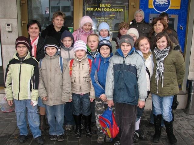 Goście obiecali, że będą przysyłać zaproszenia na swoje szkolne uroczystości