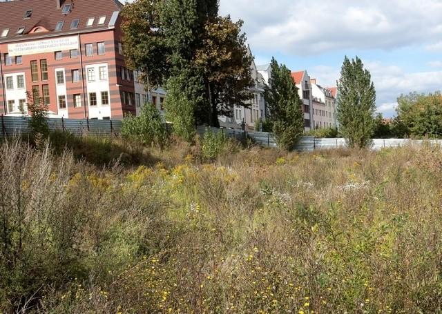 Teren przy Panieńskiej, gdzie kiedyś stał hotel Arkona.