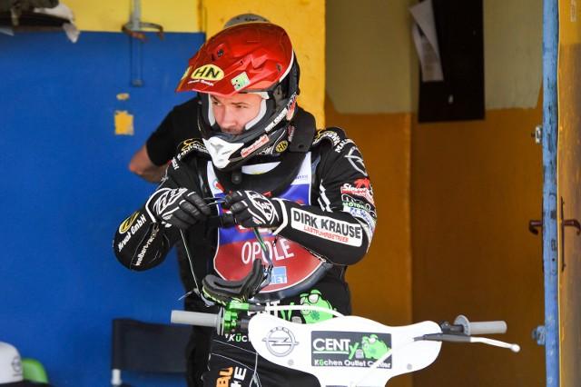 Niemiec Kevin Woelbert to zawodnik, który nie zawodzi kibiców Kolejarza. W Ostrowie zdobył 12 punktów.