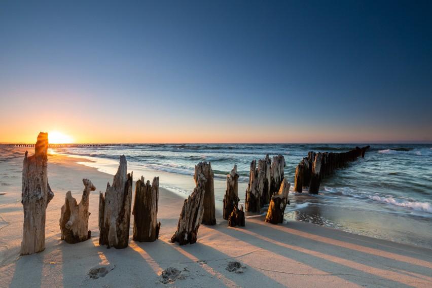 Te plaże nad Bałtykiem zachwycają turystów z całej Europy....