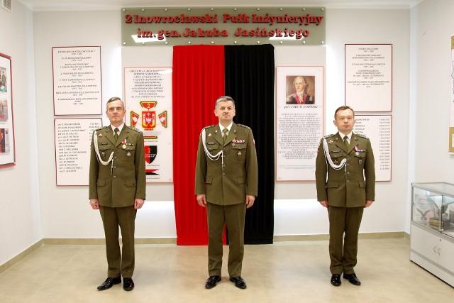 Zmiana dowódcy 2 Inowrocławskiego Pułku Inżynieryjnego