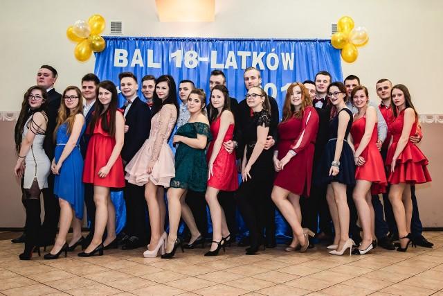 Bal 18-latków w Zespole Szkół w Gorzowie Śląskim.