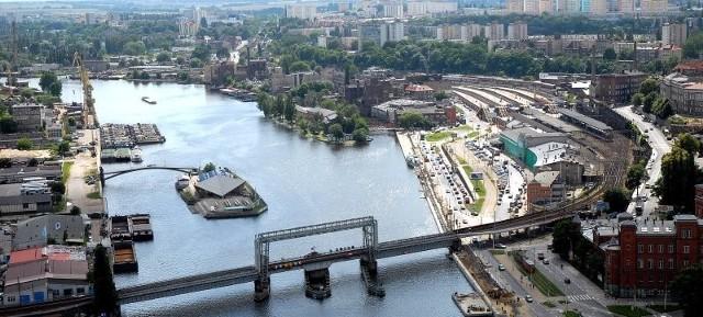 Ulica Kolumba i wyspa Jaskółcza mogą być atrakcją Szczecina. Na jej modernizację potrzeba jednak miliard złotych.