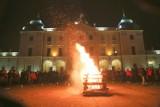 Betlejemskie Światło Pokoju przed Pałacem Branickich (zdjęcia)