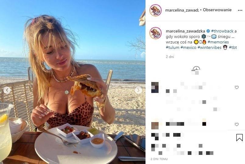 Skąpana w słońcu. Marcelina Zawadzka wygląda zjawiskowo i przyciąga uwagę fanów ZDJĘCIA 18.10.2021