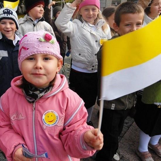 W marszu rodziny uczestniczyli najmłodsi i ci nieco starsi mieszkańcy Gorzowa. Choć odbył się on po raz pierwszy, to organizatorzy już zapowiadają kontynuację marszu w kolejnych latach. (fot. Krzysztof Tomicz).