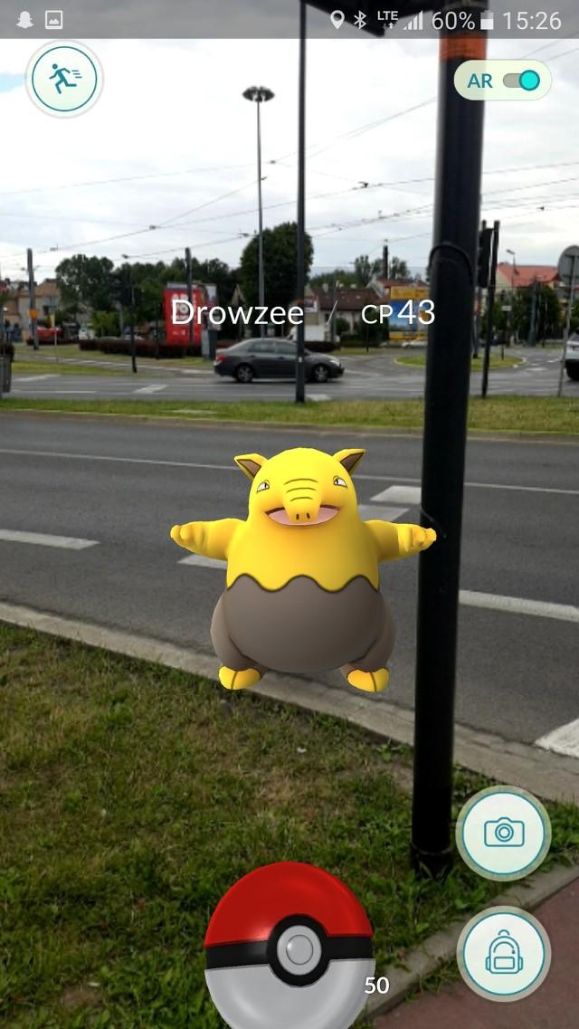 Pokemony na ulicach Krakowa