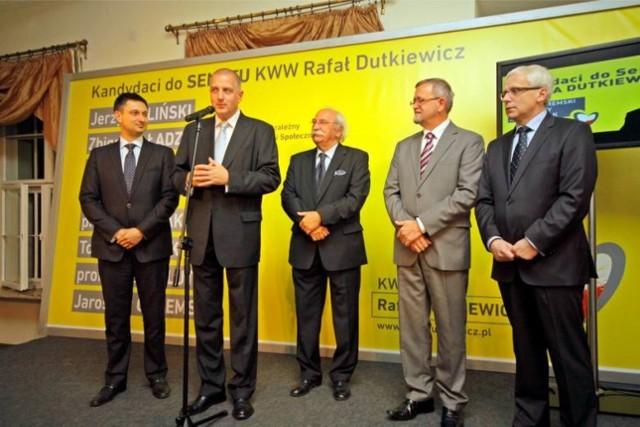 W ramach projektu Obywatele do Senatu w 2011 roku we Wrocławiu startowali Tomasz Misiak, Tadeusz Luty i Jarosław Obremski.