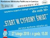 Biblioteka powiatowa organizuje w Łowiczu bezpłatny kurs komputerowy