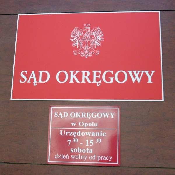 Rozbójnik został skazany w Sądzie Okręgowym w Opolu.