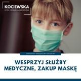 Gmina Pelplin. Maseczki uszyte przez Kociewską Spółdzielnię Socjalną na olx.pl. Sprzedajemy maseczki, by zdobyć pieniądze na dalszą akcję